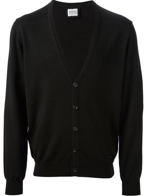 V-Neck Cardigan by A.P.C in Interstellar