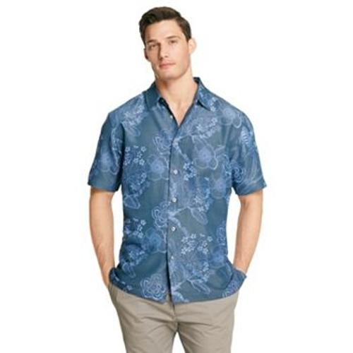 Floral Casual Button-Down Shirt by Van Heusen in Pain & Gain
