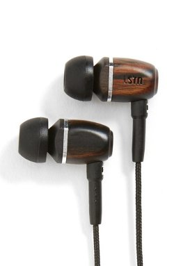 Ebony Wood Earbuds by LSTN in The Gunman