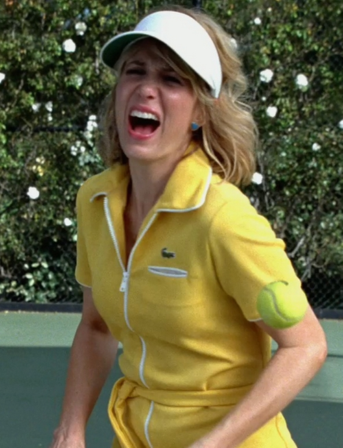 Vintage Tennis Dress by Lacoste in Bridesmaids