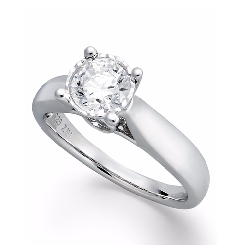 Diamond Solitaire Engagement Ring by Trumiracle in Suits - Season 5 Episode 10