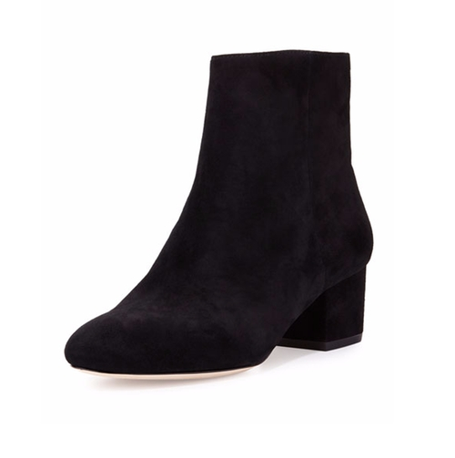 Karen Suede Bootie by Halston Heritage in Pretty Little Liars
