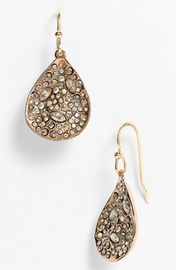 Miss Havisham Crystal Teardrop Earrings by Alexis Bittar in Pitch Perfect 2