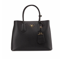 Saffiano Cuir Small Tote Bag by Prada in The Blacklist