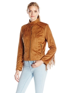 Women's Faux Suede Jacket by French Connection in Bad Moms