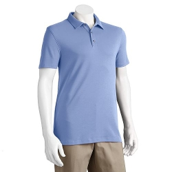 Slim-Fit Solid Polo Shirt by Apt. 9 in Adult Beginners