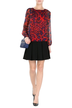 Hathaway Silk Blouse by Diane Von Furstenberg in Ted 2