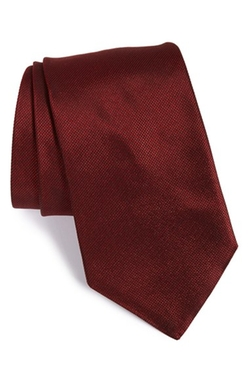 Solid Silk Tie by John Varvatos Star Usa in The Vampire Diaries