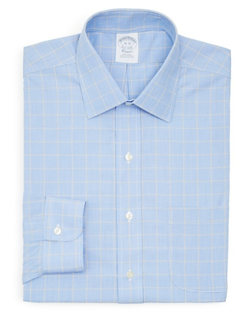 Multi Check Dress Shirt by Brooks Brothers in Southpaw