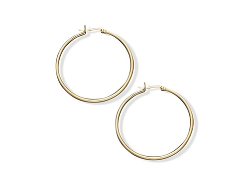 Hoop Earrings by Giani Bernini in Jem and the Holograms