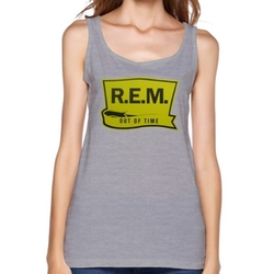 R.E.M Logo Tank Top by Nanan in Quantico