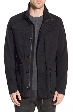 Falco Canvas Field Jacket by G-Star Raw in Black-ish