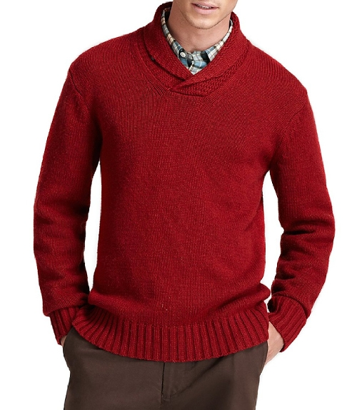 Wegman Shawl Sweater by Jack Spade in Spy