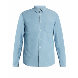 Xavier Cotton-Chambray Shirt by A.P.C. in Master of None