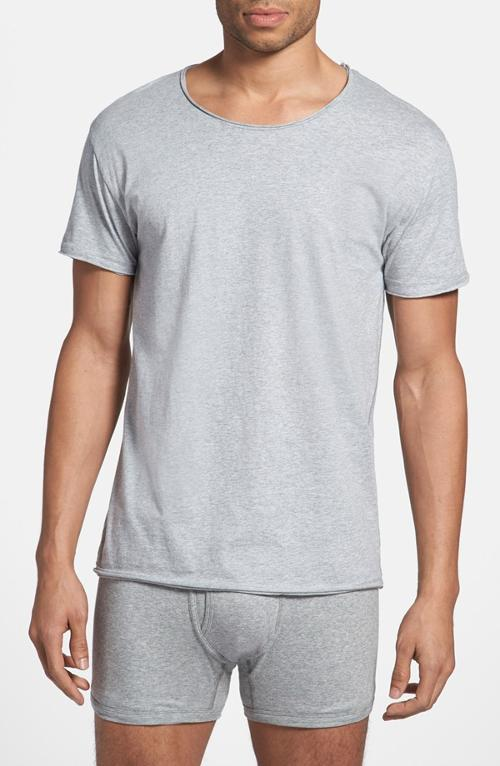 Relaxed Organic Cotton Crewneck T-Shirt by Bread & Boxers in The Maze Runner