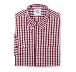 Black Fleece Check Shirt by Brooks Brothers in New Girl