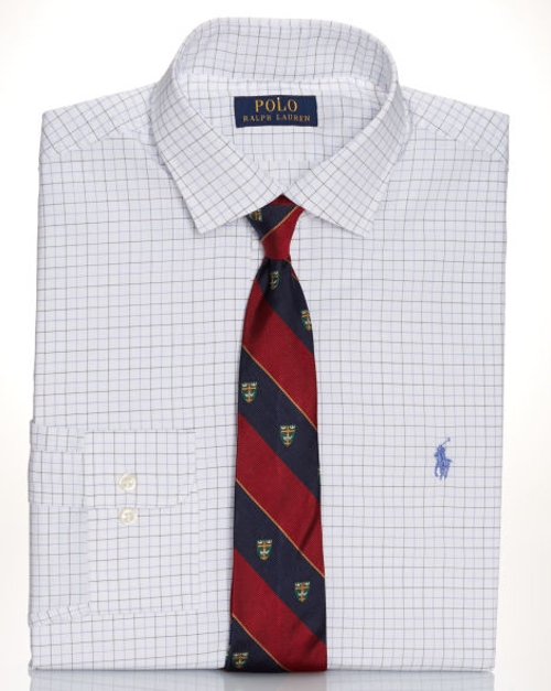 Slim-Fit Plaid Estate Shirt by Polo Ralph Lauren in Self/Less