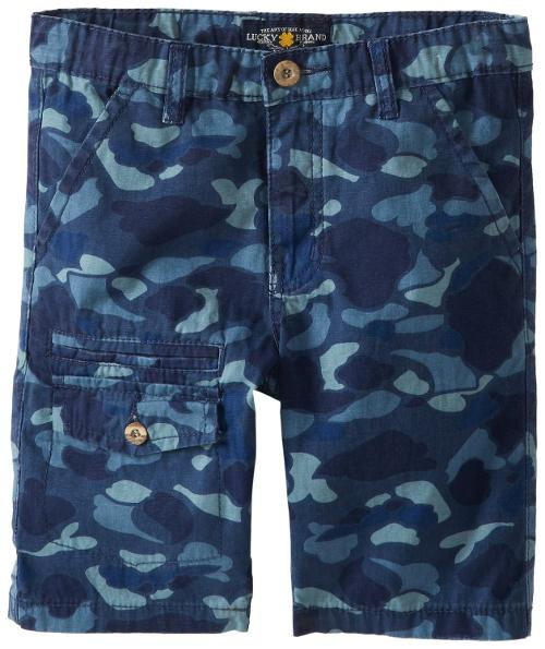 Boys 8-20 Bubble Camo Short by Lucky Brand in Wish I Was Here