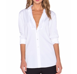 Bib Yoke Boyfriend Button Up Top by ATM Anthony Thomas Melillo in House of Cards