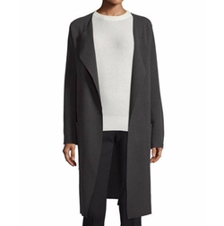 Long Wool Wrap Coat by Joseph in Quantico