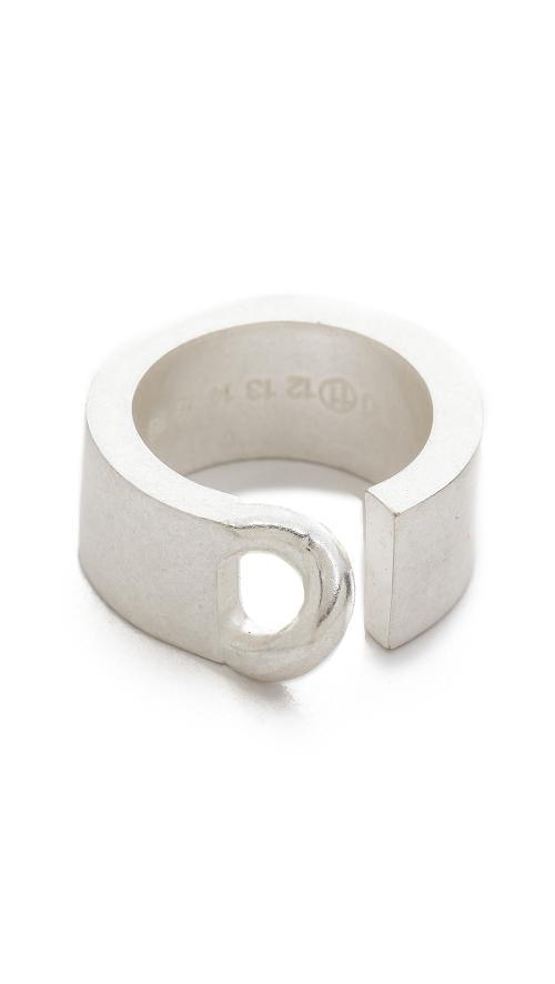 Silver Tone Ring by Maison Martin Margiela in The Other Woman
