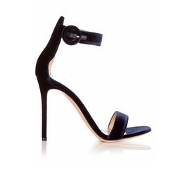 Portofino Velvet Sandals by Gianvito Rossi in Fuller House