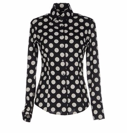Dots Button Shirt by Brian Dales in Guilt