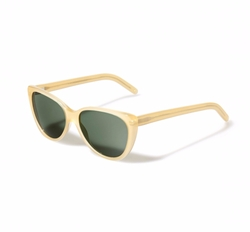 Alexandria Honey Green Sunglasses by L.G.R. in Allied