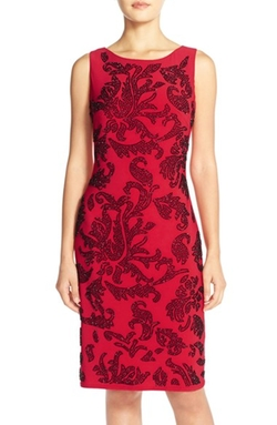 Beaded Jersey Sheath Dress by Chetta B in American Horror Story