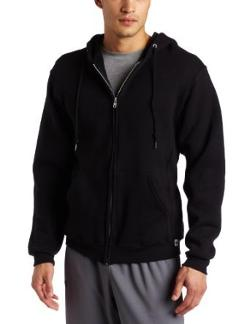 Men's Dri Power Hooded Zip-up Sweatshirt by Russell Athletic in Brick Mansions