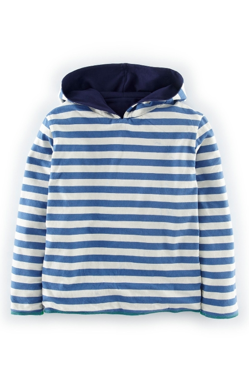 Reversible Hoodie by Mini Boden in Max
