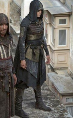 Custome Made Robe (Maria) by Sammy Sheldon (Costume Designer) in Assassin's Creed