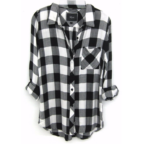 Hunter Plaid Shirt by Rails in Keeping Up With The Kardashians - Season 12 Episode 14