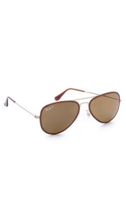 Polarized Aviator Sunglasses by Ray-Ban in Let's Be Cops