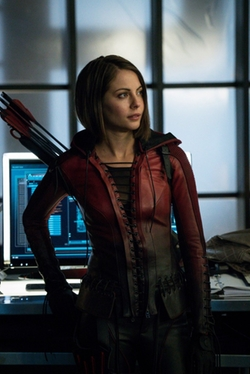 Custom Made 'Speedy' Costume by Maya Mani (Costume Designer) in Arrow