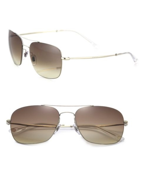 Mirrored Square Sunglasses by Gucci in Ballers