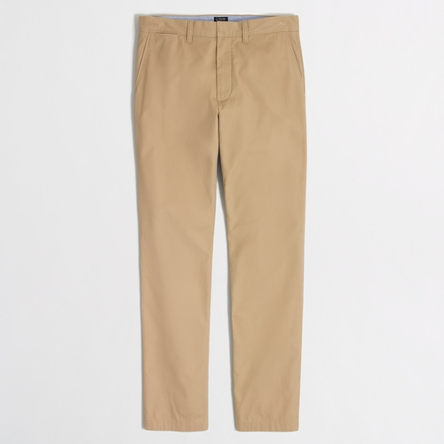 Factory Bleecker Summerweight Chino Pants by J.Crew in Captive