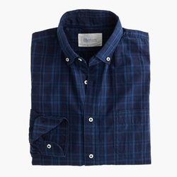 Indigo Poplin Shirt by Shuttle Notes in Brooklyn Nine-Nine