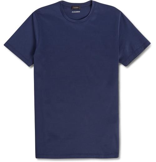 Cotton-Jersey T-Shirt by Jil Sander in Love & Mercy