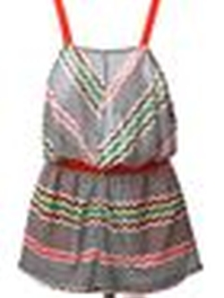 Zig Zag Crochet Playsuit by Missoni in Ballers