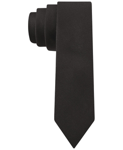 Oxford Skinny Tie by Calvin Klein in Legend