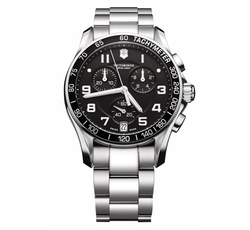 'Chrono Classic' Bracelet Watch by Victorinox Swiss Army in Suits