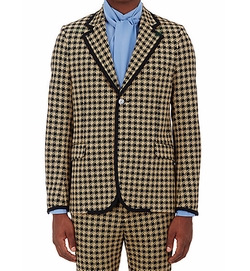 Houndstooth Two-Button Sportcoat by Gucci in Empire
