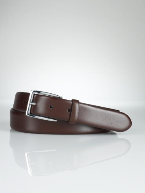 Douglas Calfskin Buckle Belt by Polo Ralph Lauren in Anchorman 2: The Legend Continues