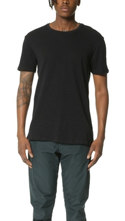 Crew Neck Slub Jersey T-Shirt by Atm Anthony Thomas Melillo in Ride Along 2
