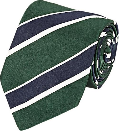 Striped Silk Necktie by Bigi in Life