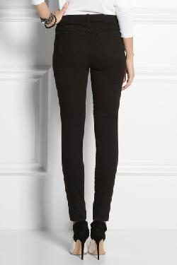 Maria Power Stretch high-rise skinny jeans by J BRAND in Vampire Academy