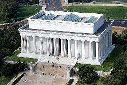 Washington, D.C. by Lincoln Memorial in Captain America: The Winter Soldier