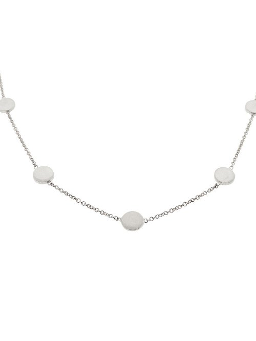 Circle Necklace by Jennifer Meyer in Entourage