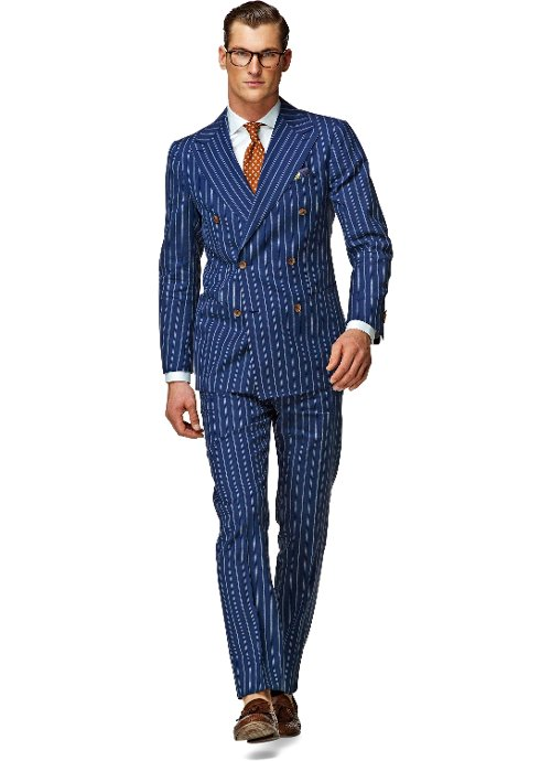 Madison Stripe Suit by Suit Supply in Unfinished Business